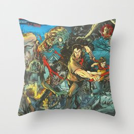 KA-POW! Throw Pillow
