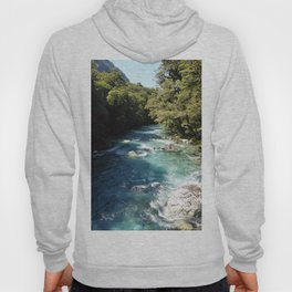 Lake Marian, New Zealand Hoody