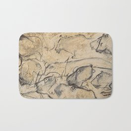 Aurignacian Art Bath Mat