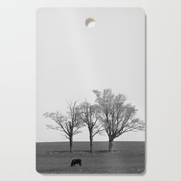 Three Trees and a Bull Cutting Board