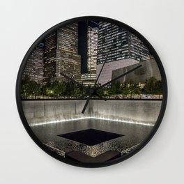 9-11 Memorial New York City Wall Clock