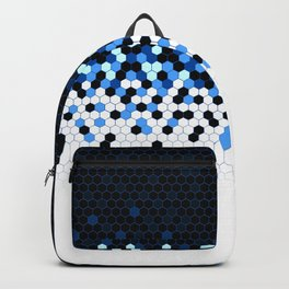 Flat Tech Camouflage Reverse Blue Backpack