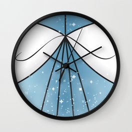 Cinderella Gown Wall Clock
