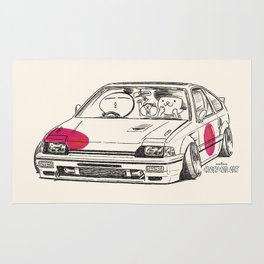 Crazy Car Art 0165 Rug