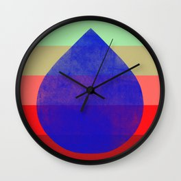 flourish 5  Wall Clock