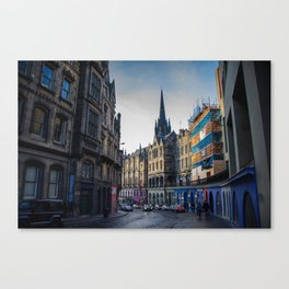 Royal Mile Canvas Print