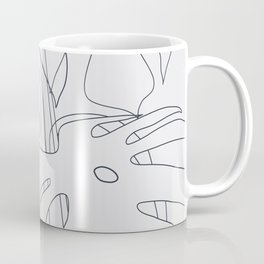 Monstera Illustration 02 Coffee Mug