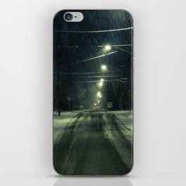 Stormy Winter iPhone Skin