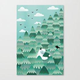 Tree Hugger (Spring & Summer version) Canvas Print