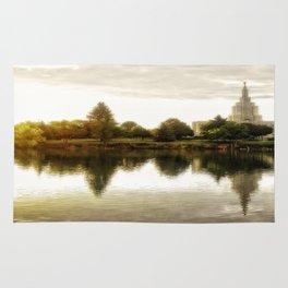 Idaho Falls Temple - Sunrise Rug
