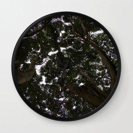 Treetop - Shinrin-Yoku Wall Clock