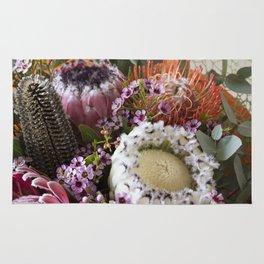 Protea arrangement Rug