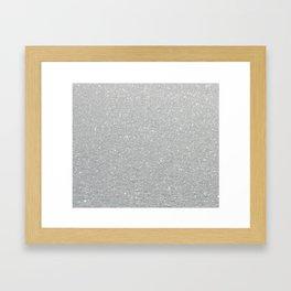 Snow Framed Art Print