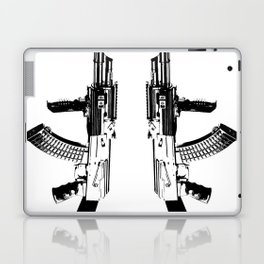 BLACK AK 47 Laptop & iPad Skin