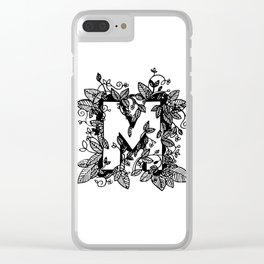 Leafy M Clear iPhone Case