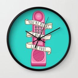 Dream phone Wall Clock