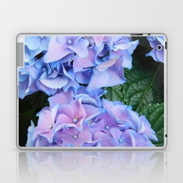 Blue hydrangea Laptop & iPad Skin