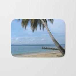 Isle of San Blas PANAMA - the Caribbeans Bath Mat