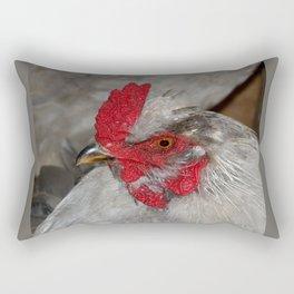 Ameraucana Rooster Rectangular Pillow