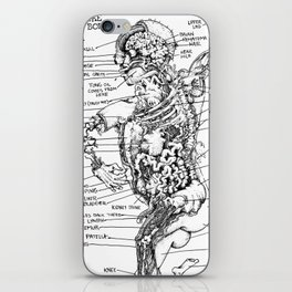 THE ENTIRE HUMAN BOD. iPhone Skin