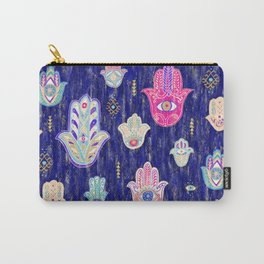 Hamsa Mystical Protection Carry-All Pouch