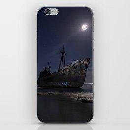 Under the moonlight iPhone Skin