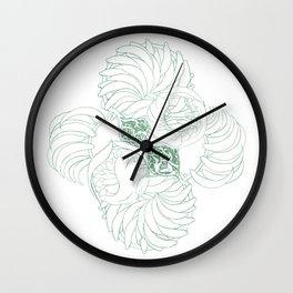 A Kelp Swirl's Wall Clock