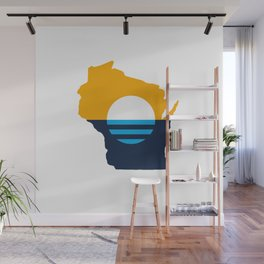 Wisconsin - People's Flag of Milwaukee Wall Mural