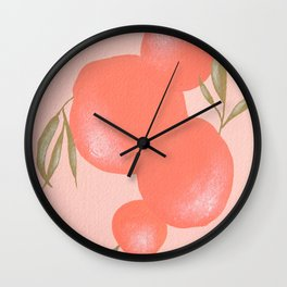 Satsumas Wall Clock