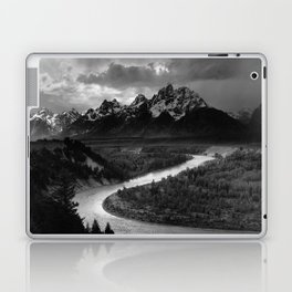 Ansel Adams - The Tetons and Snake River Laptop & iPad Skin