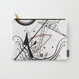 Wasilly Kandinsky Blau (Blue) 1922 Artwork Reproduction, Design for Posters, Prints, Tshirts, Men, W Carry-All Pouch