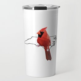 North Carolina – Northern Cardinal Travel Mug