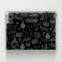 Grey and Black Science Pattern Laptop & iPad Skin