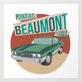 Vintage Beaumont Art Print