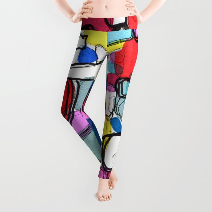 Playful Meditation 1 Leggings