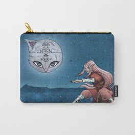 Mooncat Warrior Carry-All Pouch