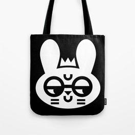 Wry Rabbit Tote Bag