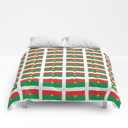 Flag of burkina faso- burkinabe,mossi,fula,ouagadougou,dioula,bobo-dioulasso,sahel,voltaic. Comforters