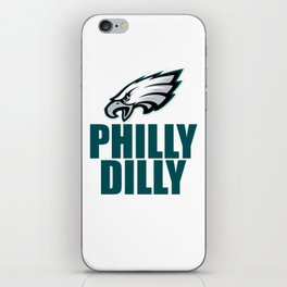 PHILLY DILLY EAGLES iPhone Skin