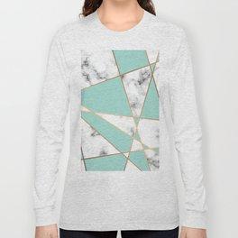 Marble Geometry 055 Long Sleeve T-shirt