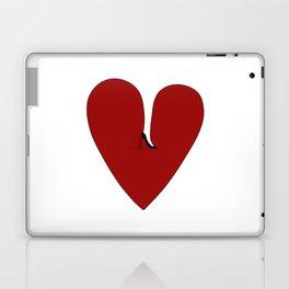 Heel my heart Laptop & iPad Skin