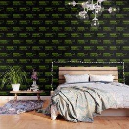 Green Loading Time Bar Wallpaper