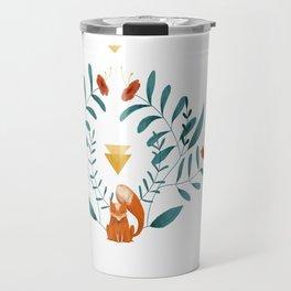 Renard fleuri Travel Mug