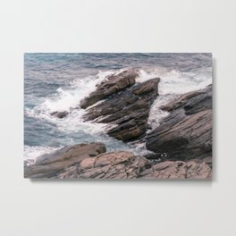 Observatory Rocks Metal Print