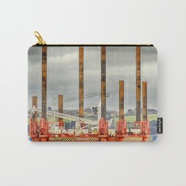 Wavewalker In Falmouth, Cornwall Carry-All Pouch