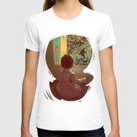 bigfoot T-shirts featuring Hello Bigfoot! by Silvio Ledbetter