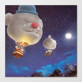 SmileDog Balloon Canvas Print