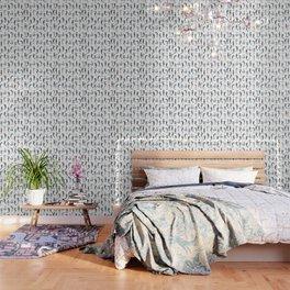 Sea Horses Pattern Wallpaper