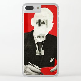 The truth is dead 1932 Clear iPhone Case