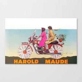 Harold and Maude Canvas Print